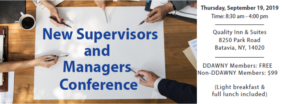 New Supervisors & Managers Conference