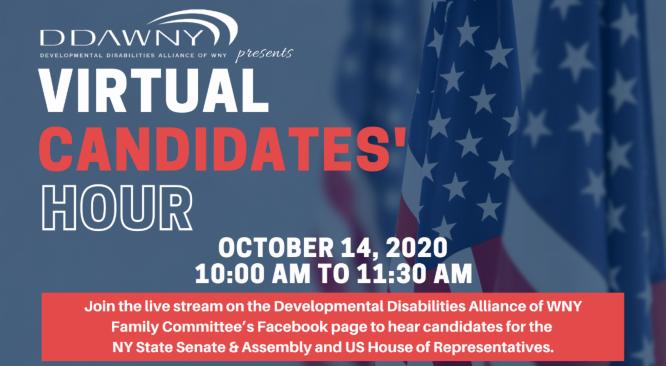 DDAWNY Virtual Candidates' Hour – Buffalo/Niagara/Western